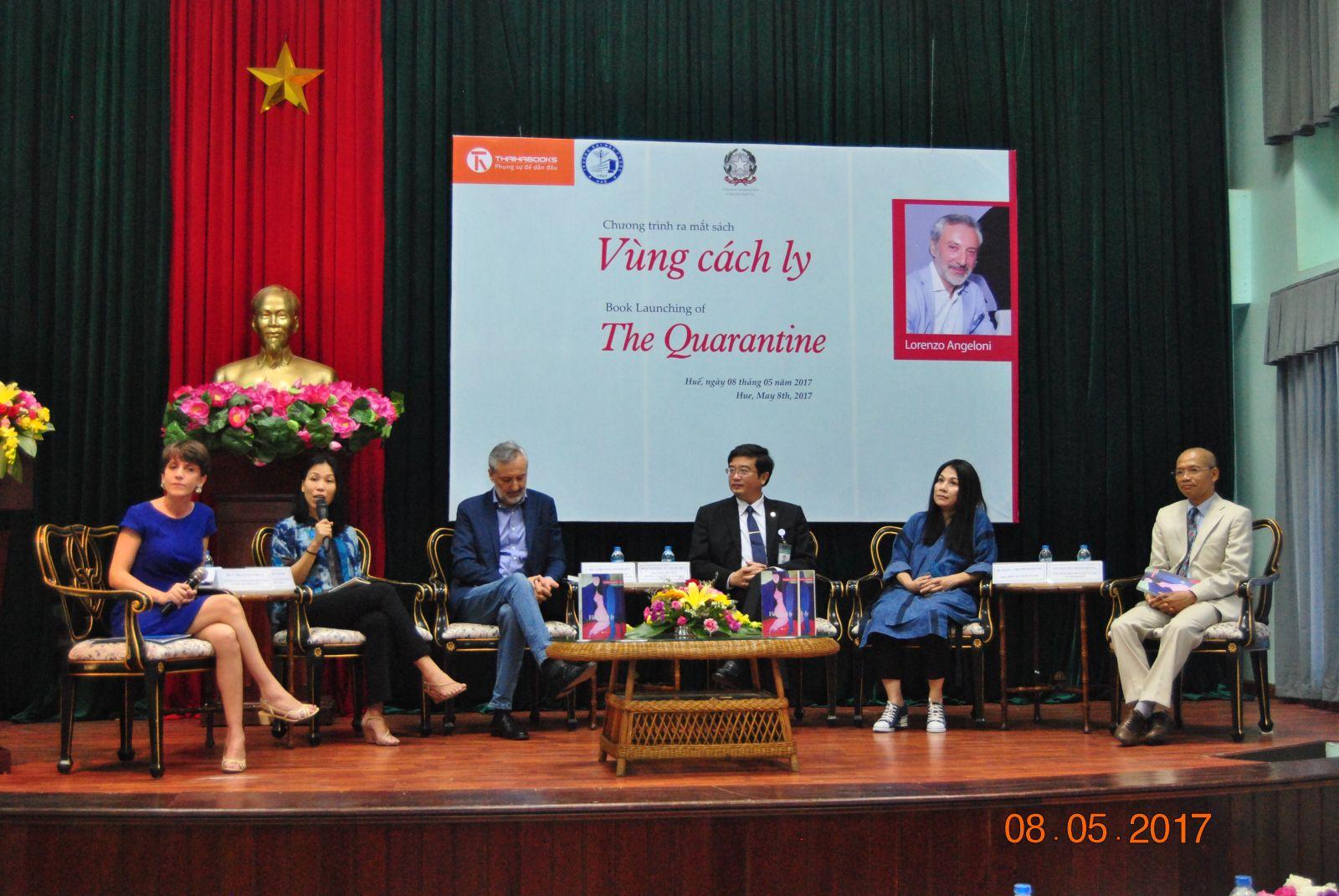 """Giới thiệu sách """"Vùng cách ly"""" của Nguyên đại sứ quán Ý tại Việt Nam"""